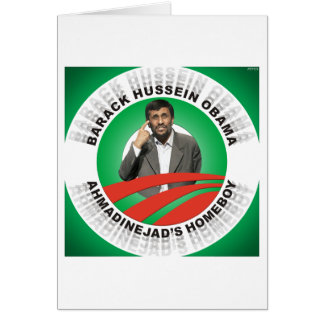 Ahmadinejads Homeboy Card
