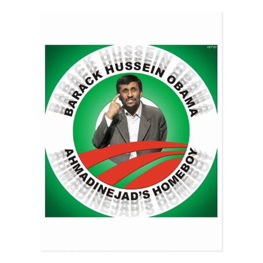 Ahmadinejads Homeboy Postcard