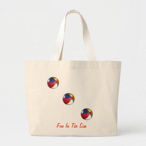 """AhMAZiNG """"Fun In The Sun"""" style beach bag"""
