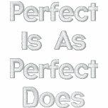 "AhMAZiNG ""Mr. Perfect"" blue hoodie"