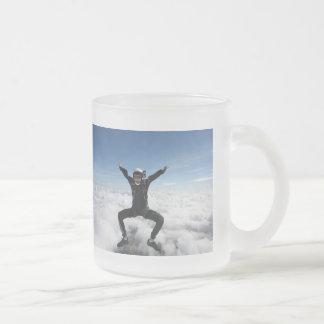 Ahmed en el cielo taza de cristal