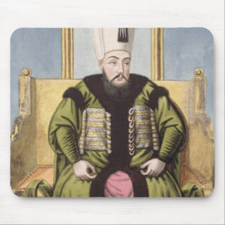 Ahmed I (1590-1617) Sultan 1603-17, from 'A Series Mouse Pad