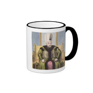 Ahmed I (1590-1617) Sultan 1603-17, from 'A Series Ringer Coffee Mug