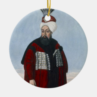 Ahmed II (1642-95) Sultan 1691-95, from 'A Series Ceramic Ornament