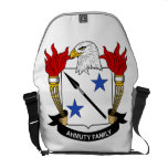 Ahmuty Family Crest Courier Bag