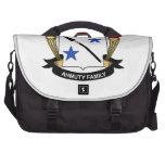 Ahmuty Family Crest Laptop Bag