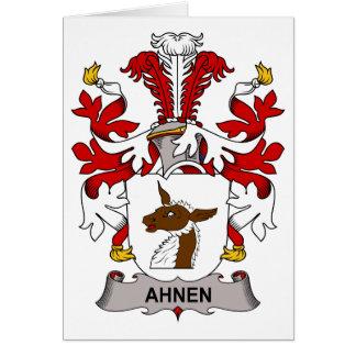 Ahnen Family Crest Card