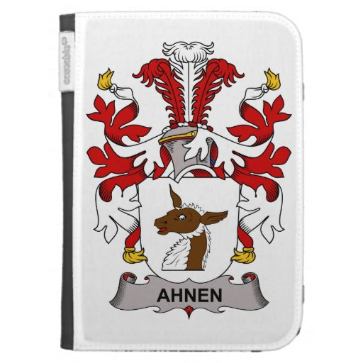 Ahnen Family Crest Kindle 3G Covers