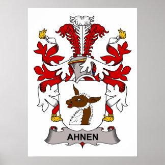 Ahnen Family Crest Print