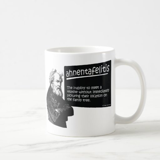 Ahnentafeilitis Coffee Mugs