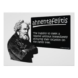 Ahnentafeilitis Posters