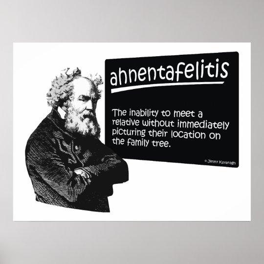 Ahnentafeilitis Poster