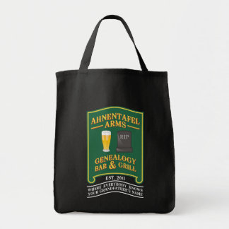 Ahnentafel Arms Genealogy Bar & Grill. Canvas Bags