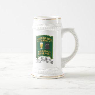 Ahnentafel Arms Genealogy Bar & Grill. Beer Stein