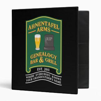 Ahnentafel Arms Genealogy Bar & Grill. Binder