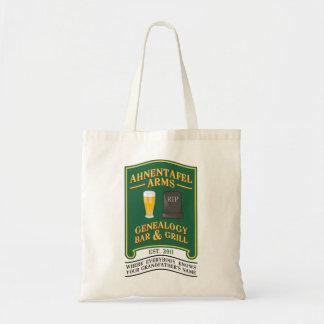 Ahnentafel Arms Genealogy Bar & Grill. Budget Tote Bag