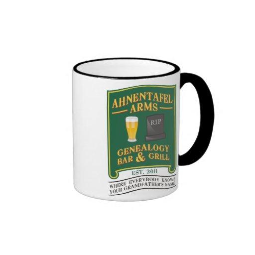 Ahnentafel Arms Genealogy Bar & Grill. Ringer Mug