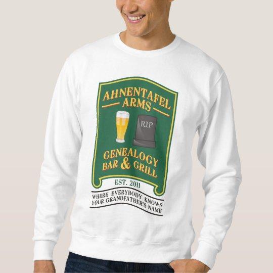 Ahnentafel Arms Genealogy Bar & Grill. Sweatshirt