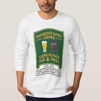 Ahnentafel Arms Genealogy Bar & Grill. T-Shirt
