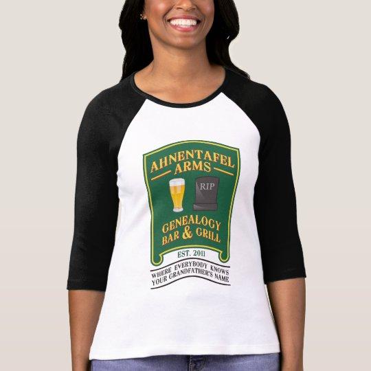 Ahnentafel Arms Genealogy Bar & Grill T-Shirt
