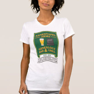 Ahnentafel Arms Genealogy Bar & Grill T-Shirt