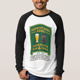 Ahnentafel Arms Genealogy Bar & Grill. Tee Shirt