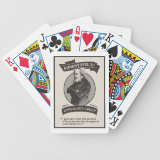 Ahnentafel's Genealogy Grout Bicycle Playing Cards