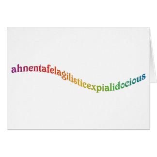 Ahnentafelagilisticexpialidocious Card