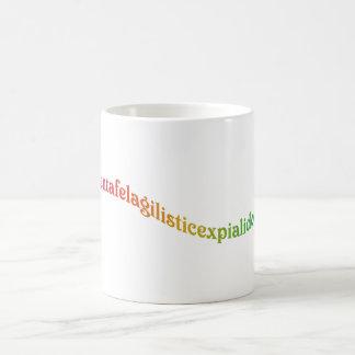 Ahnentafelagilisticexpialidocious Classic White Coffee Mug