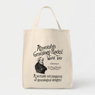 Ahnentafels Genealogy Rocks! World Tour Canvas Bags