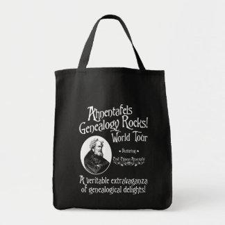 Ahnentafels Genealogy Rocks! World Tour Tote Bag