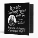 Ahnentafels Genealogy Rocks! World Tour Vinyl Binders