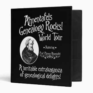 Ahnentafels Genealogy Rocks! World Tour Binder