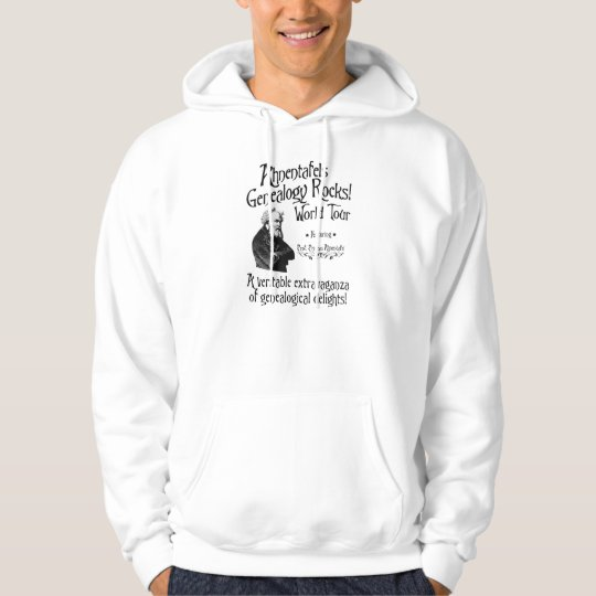 Ahnentafels Genealogy Rocks! World Tour Hoodie