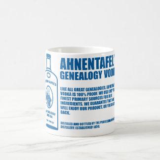 Ahnentafel's Genealogy Vodka Coffee Mug