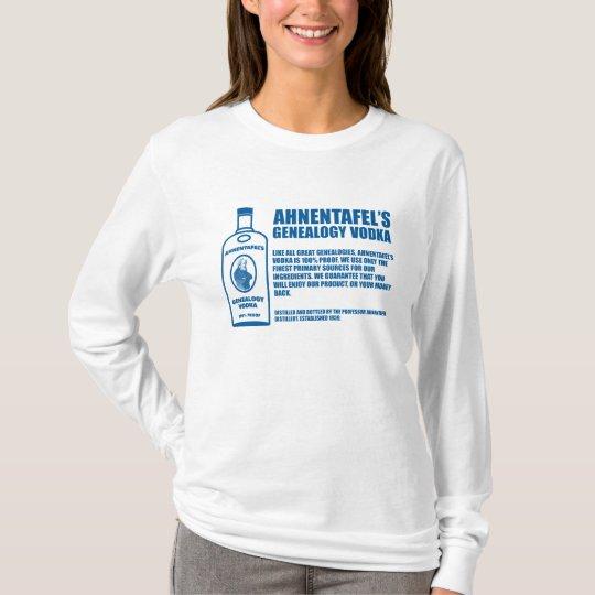 Ahnentafel's Genealogy Vodka T-Shirt
