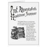 Ahnentafel's Headstone Scanner Birthday Card
