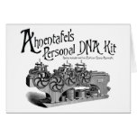 Ahnentafel's Personal DNA Kit Greeting Card