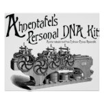 Ahnentafel's Personal DNA Kit Poster