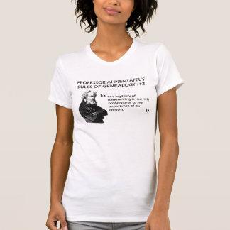 Ahnentafel's Rules of Genealogy #2 Shirt