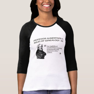 Ahnentafel's Rules of Genealogy #2 T-Shirt