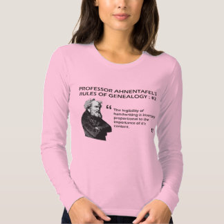 Ahnentafel's Rules of Genealogy #2 T-shirt