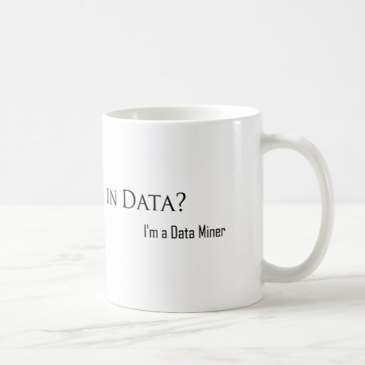 ¿Ahogado en datos? Taza Clásica