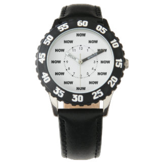 """""""AHORA"""" #11 extraordinario Relojes De Pulsera"""