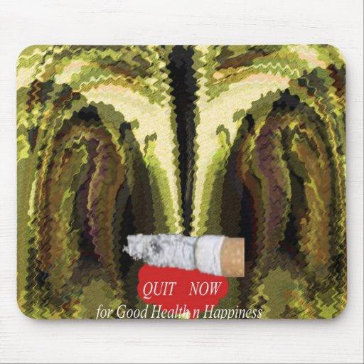 AHORA ABANDONADO - el fumar es perjudicial a la sa Tapete De Ratones