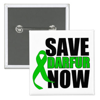 Ahora ahorre Darfur Pins
