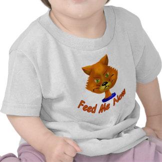 Ahora aliménteme camisetas