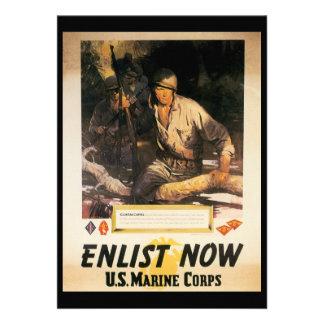 Ahora aliste la Segunda Guerra Mundial Invitaciones Personalizada