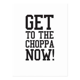 ¡AHORA CONSIGA AL CHOPPA! POSTALES