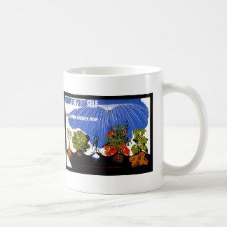 Ahora crézcalo usted mismo planta del ~ un jardín taza de café